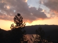 Tramonto sul lago Ampollino_Foto di MariaLuisa Del Giudice