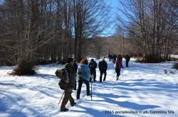Escursione lungo il sentiero 420 PNS di Montenero