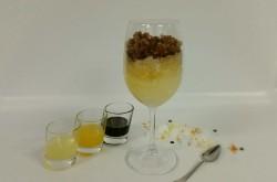 Scirubetta e i tre sensi: limone, arancia e vino cotto di fichi.