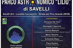 Inaugurazione Parco Astronomico Lilio di Savelli