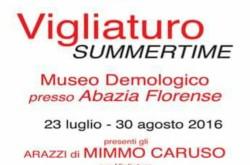 Vigliaturo Summertime e arazzi del Maestro Mimmo Caruso