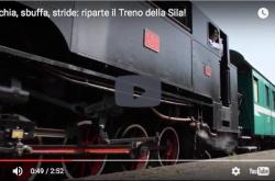 Fischia, sbuffa, stride: riparte il Treno della Sila!