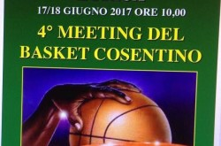 4 Meeting del basket cosentino