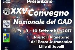 XXV Convegno Nazionale del Gruppo Astronomia Digitale