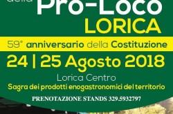Festa della Pro-Loco di Lorica