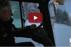 A bordo del gatto delle nevi – Villaggio Palumbo