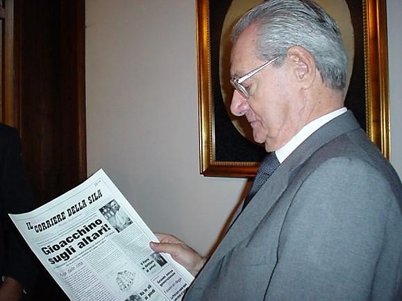 """Cesare Romiti già patron del quotidiano più importante d'Italia """"Corriere della Sera"""""""
