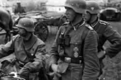 Soldati tedeschi in guerra